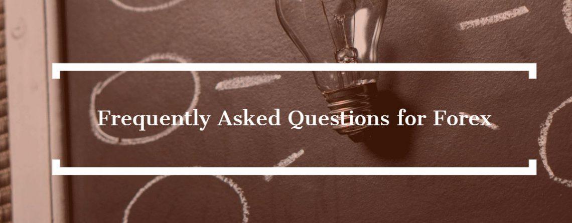 Najczęściej zadawane pytania dotyczące rynku Forex